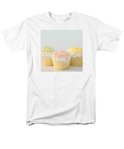 Three Cupcakes Men's T-Shirt  (Regular Fit) by Art Block Collections