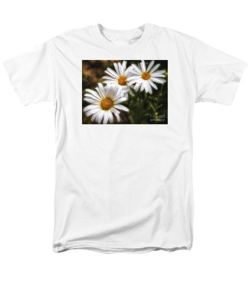 Three Flowers  ... Men's T-Shirt  (Regular Fit) by Chuck Caramella