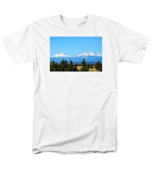 Three Sisters In The Fall Men's T-Shirt  (Regular Fit) by Linda Larson