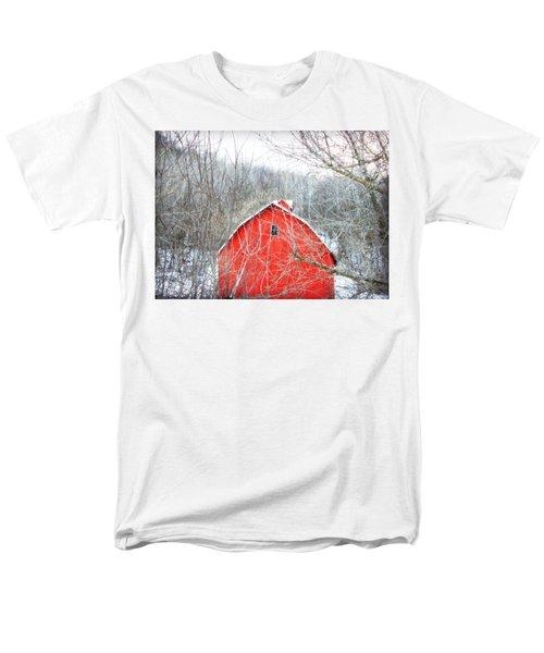 Men's T-Shirt  (Regular Fit) featuring the photograph Through The Woods by Julie Hamilton