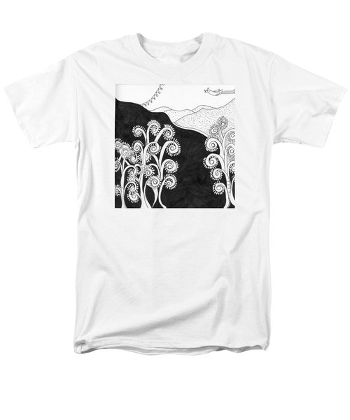 Through The Woods Men's T-Shirt  (Regular Fit) by Lou Belcher
