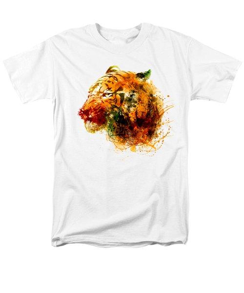 Tiger Side Face Men's T-Shirt  (Regular Fit) by Marian Voicu