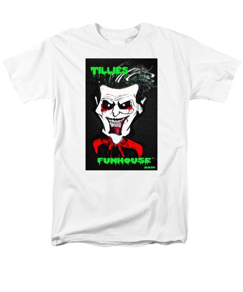 Men's T-Shirt  (Regular Fit) featuring the painting Tillies Vamp by Patricia Arroyo