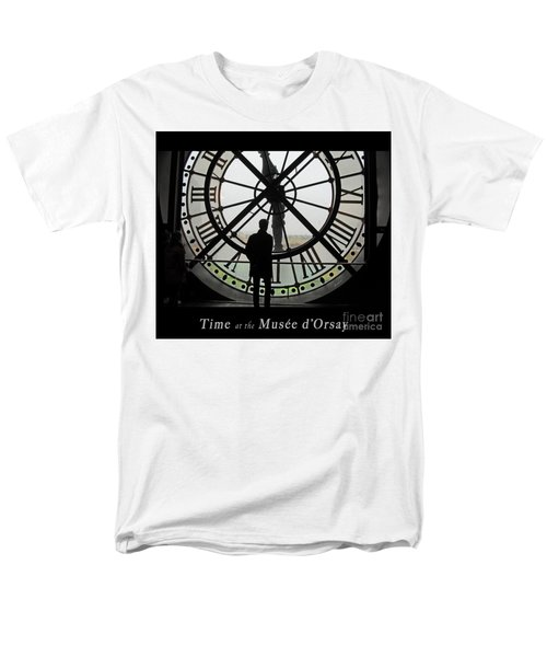 Time At The Musee D'orsay Men's T-Shirt  (Regular Fit) by Felipe Adan Lerma