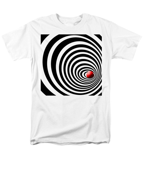 Time Tunnel Op Art Men's T-Shirt  (Regular Fit) by Methune Hively