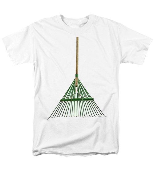 Tools On Wood 10 On Bw Men's T-Shirt  (Regular Fit) by YoPedro