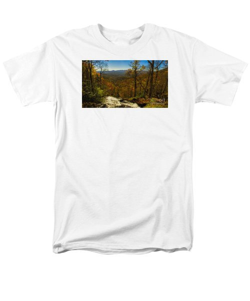 Top Of Amicola Falls Men's T-Shirt  (Regular Fit)