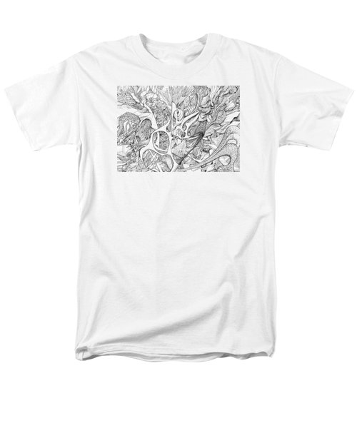 Tortuosity Men's T-Shirt  (Regular Fit) by Charles Cater