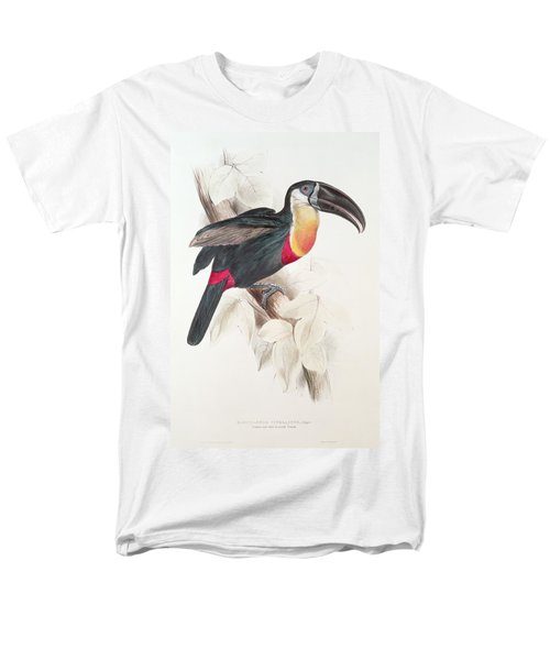 Toucan Men's T-Shirt  (Regular Fit) by Edward Lear