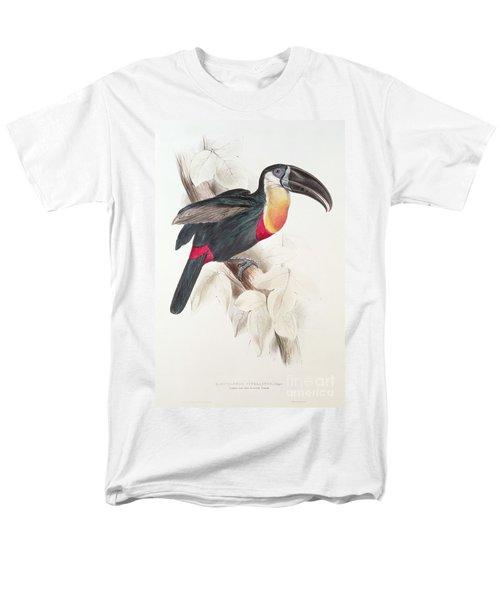 Toucan Men's T-Shirt  (Regular Fit) by Edward Lear