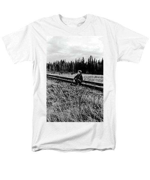Men's T-Shirt  (Regular Fit) featuring the photograph Tough Times by Tara Lynn