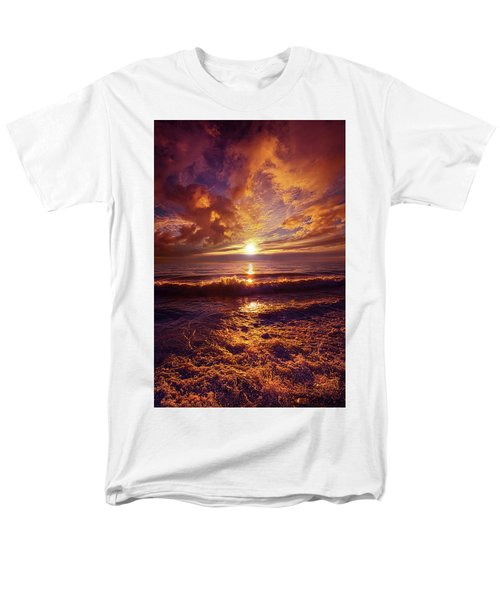 Men's T-Shirt  (Regular Fit) featuring the photograph Toward The Far Reaches by Phil Koch