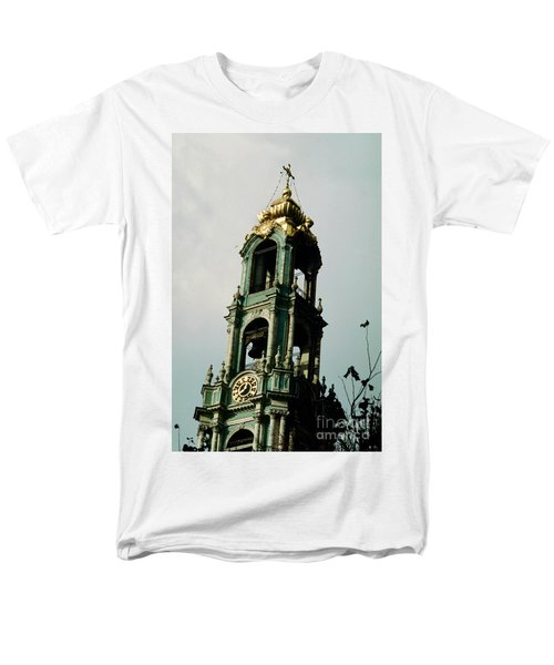 Tower Trinity Lavra Of St. Sergius Sergiev Posad Zagorsk Men's T-Shirt  (Regular Fit) by Wernher Krutein