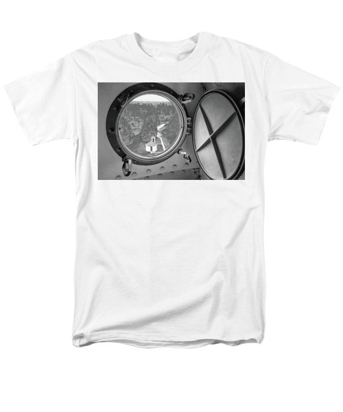 Men's T-Shirt  (Regular Fit) featuring the photograph Tower View by Janice Adomeit