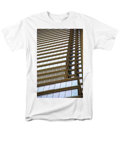 Men's T-Shirt  (Regular Fit) featuring the photograph Towering Windows by Karol Livote