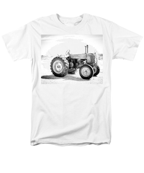 Men's T-Shirt  (Regular Fit) featuring the photograph Tractor by Silvia Bruno