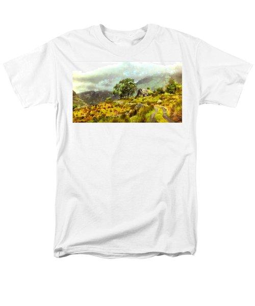 Traditional Ireland Men's T-Shirt  (Regular Fit) by Mario Carini