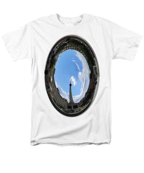 Trafalgar Square Oval Men's T-Shirt  (Regular Fit) by Roger Lighterness
