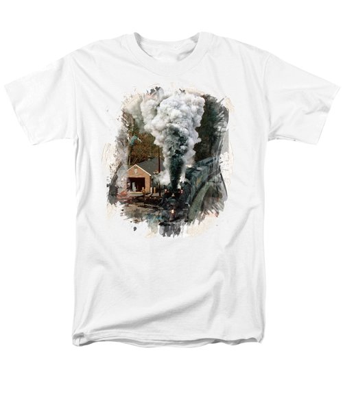 Train Days Men's T-Shirt  (Regular Fit) by Florentina Maria Popescu