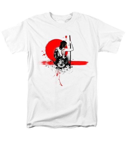 Trash Polka - Female Samurai Men's T-Shirt  (Regular Fit) by Nicklas Gustafsson