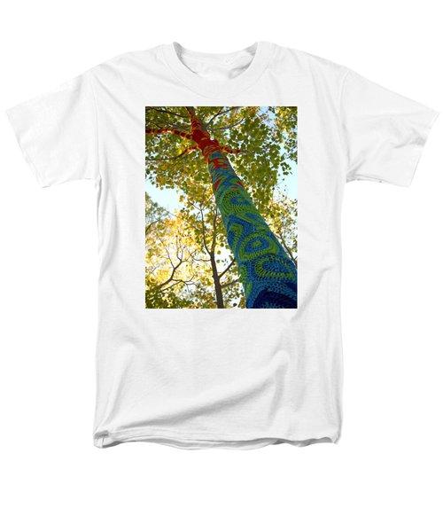 Tree Crochet Men's T-Shirt  (Regular Fit) by  Newwwman