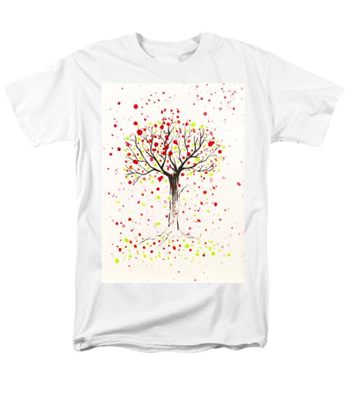 Tree Explosion Men's T-Shirt  (Regular Fit) by Stefanie Forck