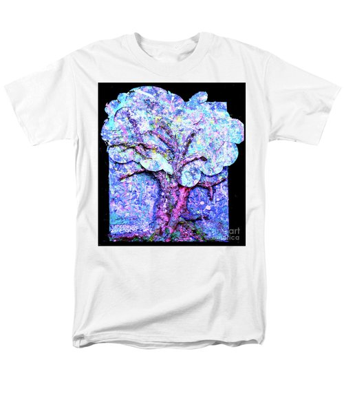 Men's T-Shirt  (Regular Fit) featuring the painting Tree Menagerie by Genevieve Esson