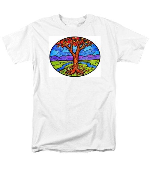 Tree Of Grace - Autumn Men's T-Shirt  (Regular Fit) by Jim Harris