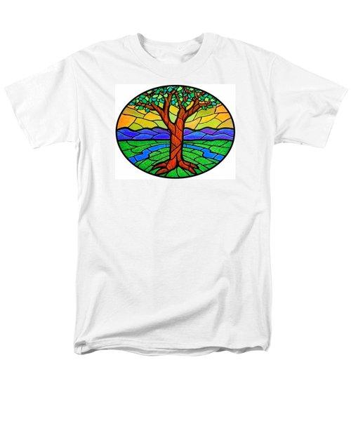 Tree Of Grace - Summer Men's T-Shirt  (Regular Fit) by Jim Harris