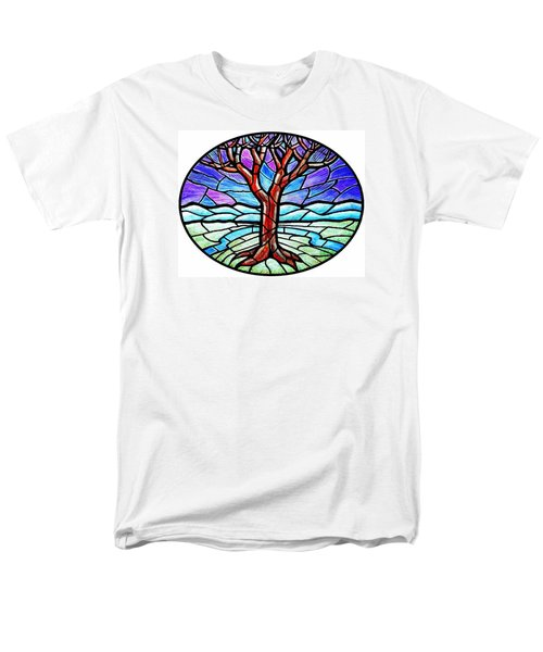 Tree Of Grace - Winter Men's T-Shirt  (Regular Fit) by Jim Harris