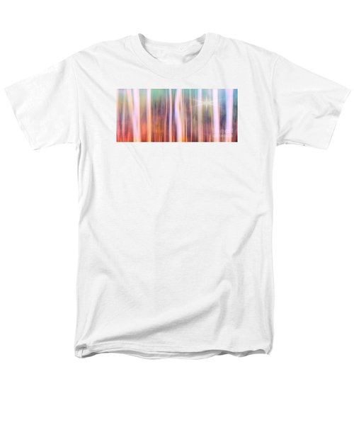 Men's T-Shirt  (Regular Fit) featuring the photograph Tree Star Abstract by Clare VanderVeen