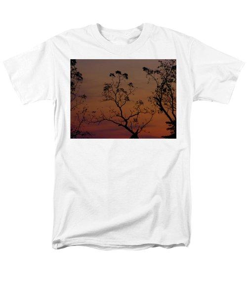 Tree Top After Sunset Men's T-Shirt  (Regular Fit) by Donald C Morgan