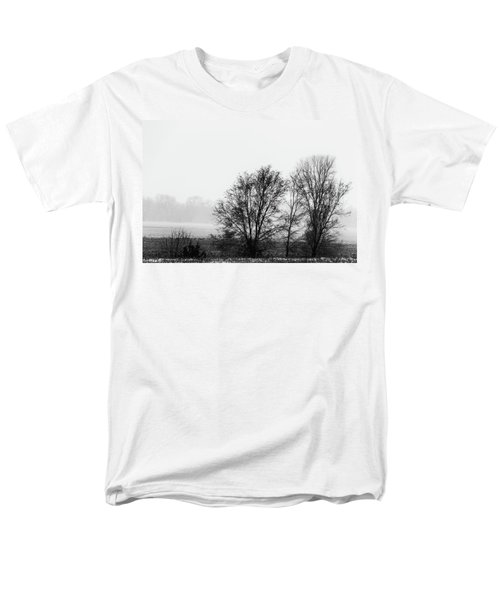 Trees In The Mist Men's T-Shirt  (Regular Fit) by Jay Stockhaus
