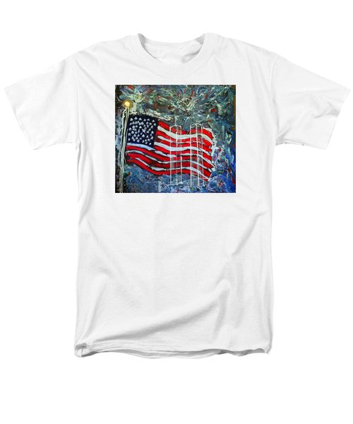 Men's T-Shirt  (Regular Fit) featuring the mixed media Tribute by J R Seymour