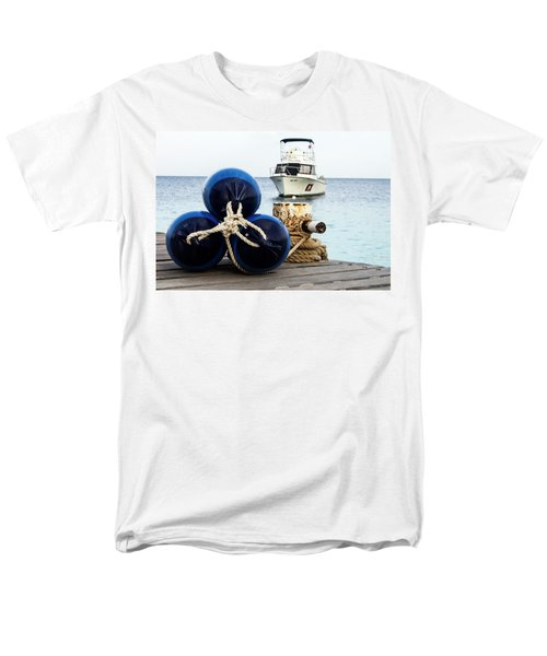Men's T-Shirt  (Regular Fit) featuring the photograph Triple Bumpers by Jean Noren