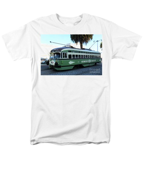 Men's T-Shirt  (Regular Fit) featuring the photograph Trolley Number 1078 by Steven Spak