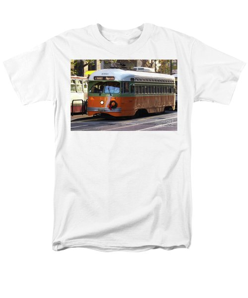 Men's T-Shirt  (Regular Fit) featuring the photograph Trolley Number 1080 by Steven Spak