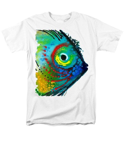Tropical Fish - Art By Sharon Cummings Men's T-Shirt  (Regular Fit)