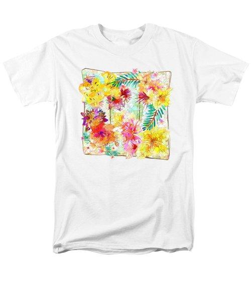 Tropicana Abstract By Kaye Menner Men's T-Shirt  (Regular Fit)