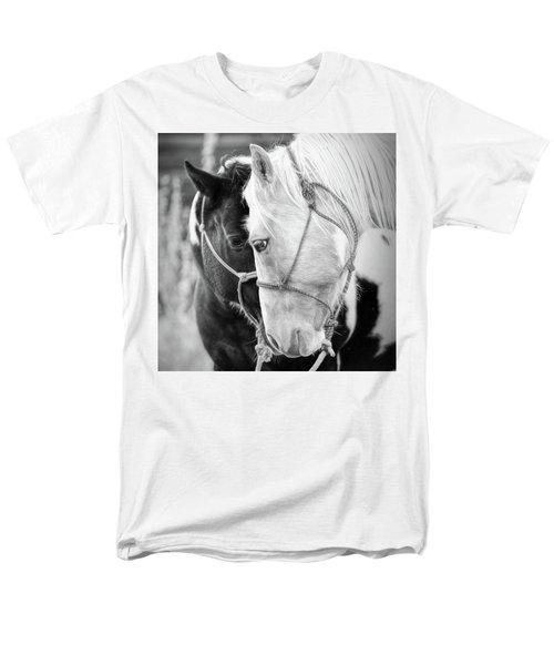 Men's T-Shirt  (Regular Fit) featuring the photograph True Friends by Sharon Jones