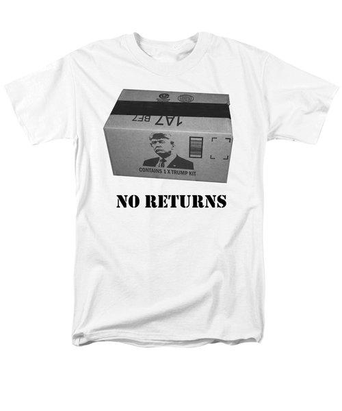 Trump Box Men's T-Shirt  (Regular Fit) by Roger Lighterness