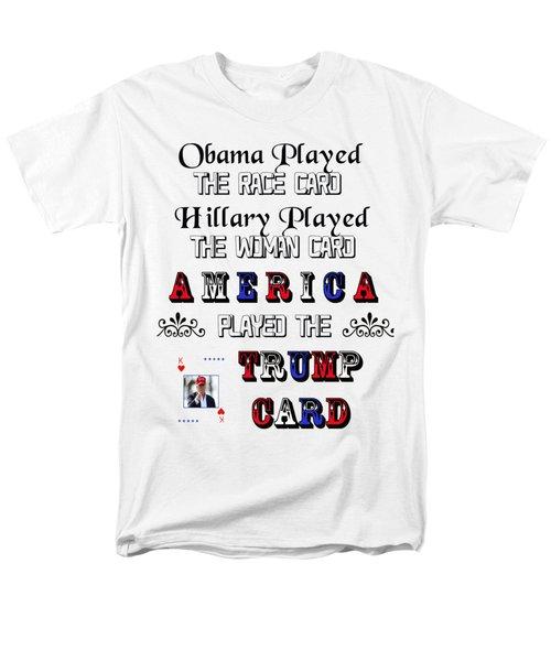 Trump Card Men's T-Shirt  (Regular Fit) by Ericamaxine Price
