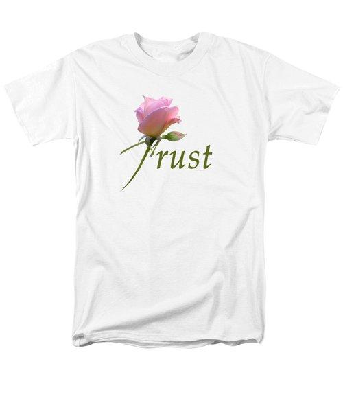 Men's T-Shirt  (Regular Fit) featuring the digital art Trust by Ann Lauwers