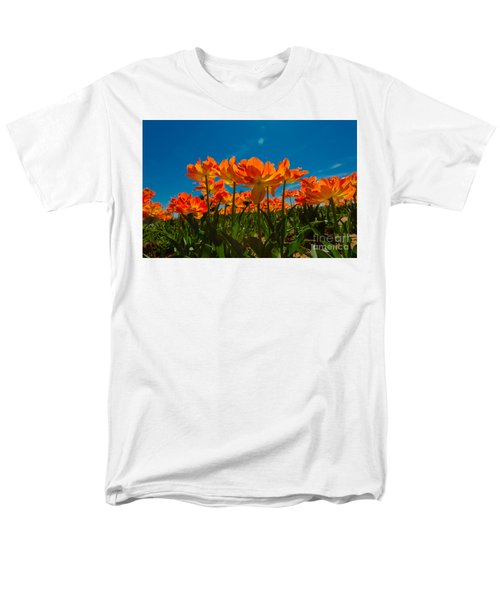 Tulips In The Sun Men's T-Shirt  (Regular Fit) by John Roberts