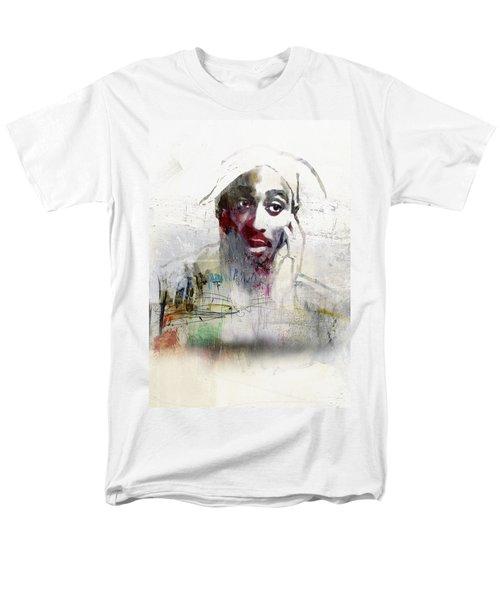 Tupac Graffitti 2656 Men's T-Shirt  (Regular Fit) by Jani Heinonen