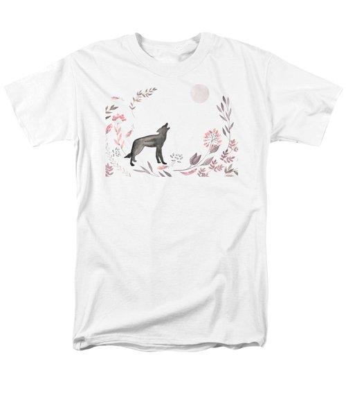Twilight Wolf Men's T-Shirt  (Regular Fit)