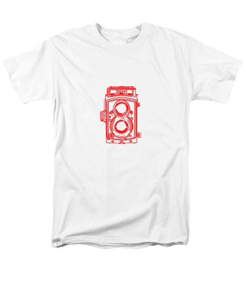 Twin Lens Camera Men's T-Shirt  (Regular Fit)
