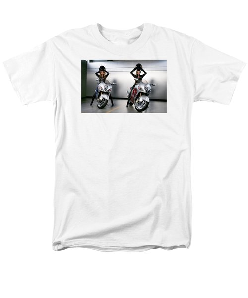 Men's T-Shirt  (Regular Fit) featuring the photograph Two To Go And Go And Go. by Lawrence Christopher