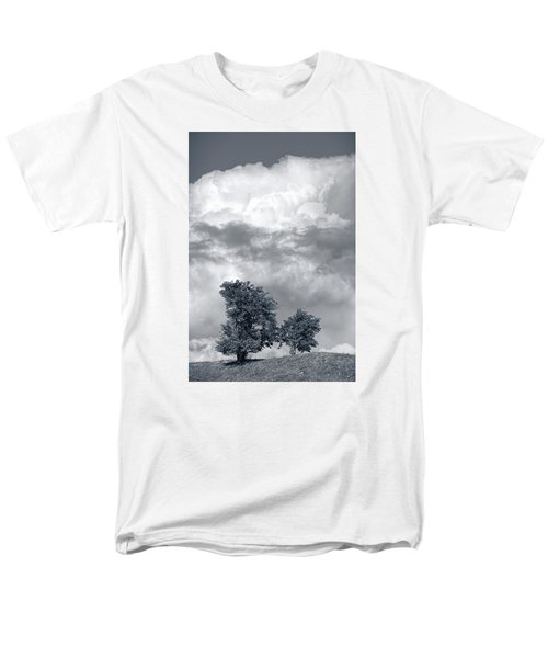 Two Trees #9249 Men's T-Shirt  (Regular Fit) by Andrey Godyaykin