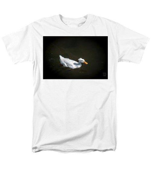 Men's T-Shirt  (Regular Fit) featuring the photograph U Qwak Me Up by Daniel Hebard